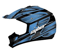 Cyber UX-24 Bandit Off Road Helmets For Men's Blue/Black View