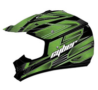 Cyber UX-24 Bandit Off Road Helmets For Men's Green/Black View
