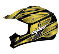 Cyber UX-24 Bandit Off Road Helmets For Men's Yellow/Black View