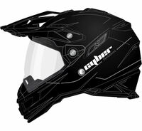 Cyber UX-33 Off Road Helmets For Men's Black View
