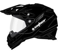 Cyber UX-33 Off Road Helmets For Men's Matte Black View