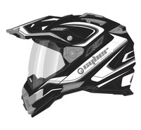 Cyber UX-33 Chaos Off Road Helmets For Men's Silver View