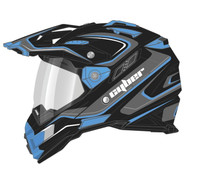 Cyber UX-33 Chaos Off Road Helmets For Men's Blue View