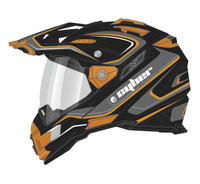 Cyber UX-33 Chaos Off Road Helmets For Men's Orange View