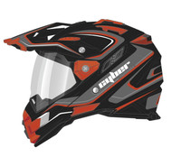 Cyber UX-33 Chaos Off Road Helmets For Men's Red View