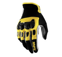 100% Men's Derestricted Gloves Yellow View