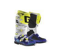 Gaerne SG-12 Boots For Men's White/Blue/Yellow View