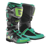 Gaerne SG-12 Boots For Men's Turquoise/Lime/Black View