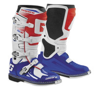 Gaerne SG-10 Boots For Men's White/Blue/Red View