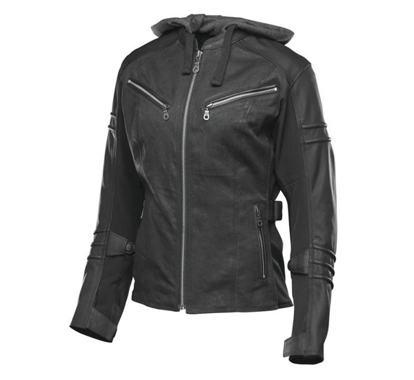 Speed And Strength Women's Street Savvy Jacket Black Main View