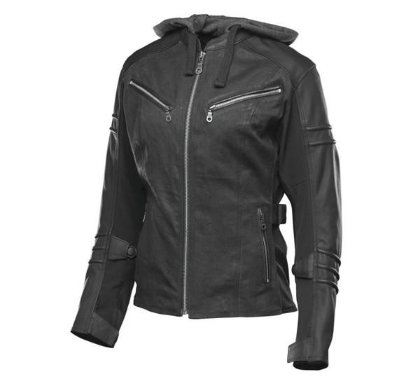 Speed And Strength Women's Street Savvy Jacket Black Main View