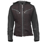 Speed And Strength Women's Street Savvy Jacket Oxblood View