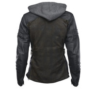 Speed And Strength Women's Street Savvy Jacket Olive Back View