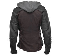 Speed And Strength Women's Street Savvy Jacket Oxblood Back View