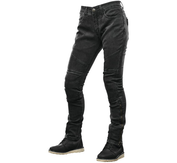 Speed And Strength Women's Street Savvy Moto Pants Black View