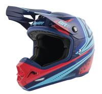 Answer AR-3 Charge Helmets Indigo/Bright Red