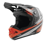 Answer AR-3 Charge Helmets Black/Orange