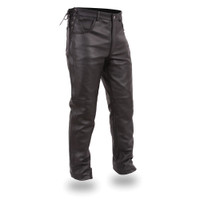 First Classics Soft Milled Cowhide Leather Pant for Men