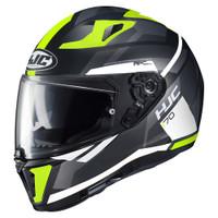 HJC i70 Elim Helmet For Men Hi-Viz View