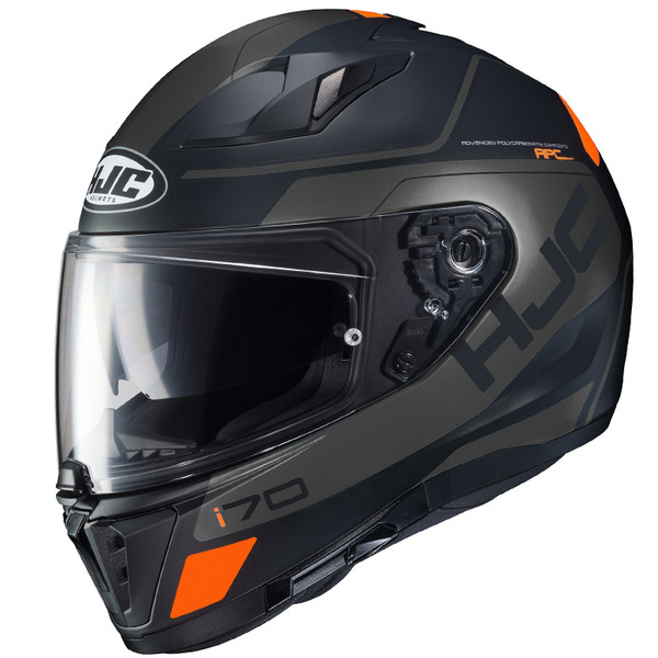 HJC i70 Karon MC Full Face Helmet For Men Black View