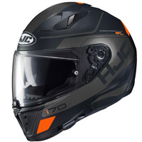 HJC i70 Karon MC Full Face Helmet For Men Black View