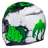 HJC CL-17 Hulk MC-4 Full Face Helmet For Men