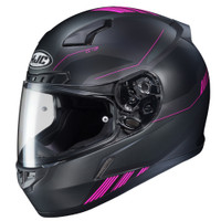 HJX CL-17 Combat Full Face Helmet For Men Black/Pink View