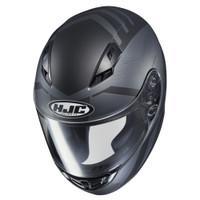 HJC CS-R3 Faren Full Face Helmet For Men Black Front View