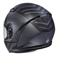 HJC CS-R3 Faren Full Face Helmet For Men Black Back View