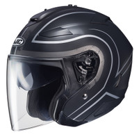 HJC IS-33 II Apus Open Face Helmet For Men White/Black View