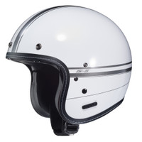 HJC IS-5 Ladon Open Face Helmet For Men White View