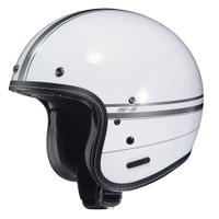 HJC IS-5 Ladon Open Face Helmet For Men White View
