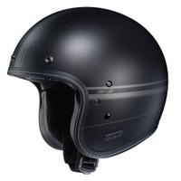 HJC IS-5 Ladon Open Face Helmet For Men Black View