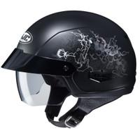 HJC IS- Cruiser Amor Half Face Helmet For Women Black View