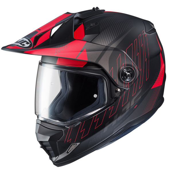 HJC DS-X1 Gravity Full Face Helmet For Men Red Main View