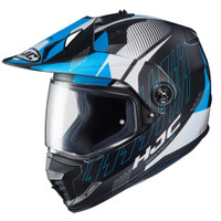HJC DS-X1 Gravity Full Face Helmet For Men Blue View