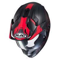 HJC DS-X1 Gravity Full Face Helmet For Men Red View