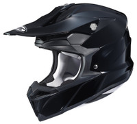 HJC i 50 Solid & Semi-Flat Full Face Helmet For Men Black View