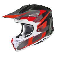 HJC i 50 Argos Full Face Helmet For Men Red View