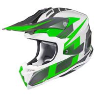 HJC i 50 Argos Full Face Helmet For Men Green View