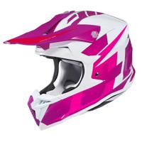 HJC i 50 Argos Full Face Helmet For Men Pink View