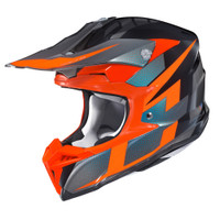 HJC i 50 Argos Full Face Helmet For Men Orange View