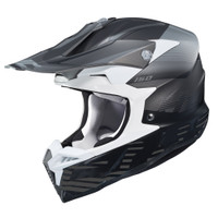 HJC i 50 Fury Full Face Helmet For Men Black Side View