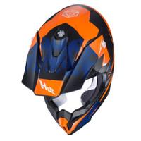 HJC i 50 Tona Full Face Helmet For Men Orange Top View