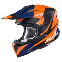 HJC i 50 Tona Full Face Helmet For Men Orange View