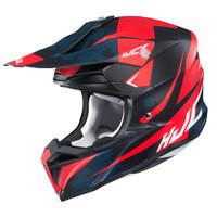 HJC i 50 Tona Full Face Helmet For Men Red View