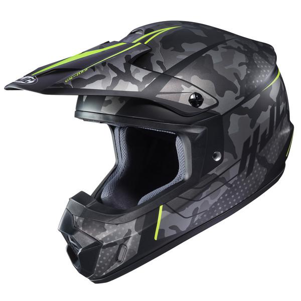 HJC CS-MX II Sapir Full Face Helmet For Men Hi-Viz View