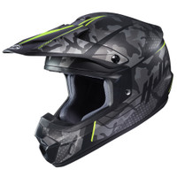 HJC CS-MX II Sapir Full Face Helmet For Men Hi-Viz View