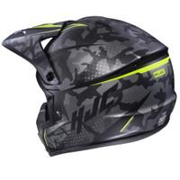 HJC CS-MX II Sapir Full Face Helmet For Men Hi-Viz Back View