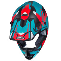 HJC CS-MX II Madax Full Face Helmet For Men Teal Top View